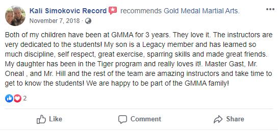 Kids Testimonial Gold Medal Martial Arts 2 , Gold Medal Martial Arts in Santa Clarita CA